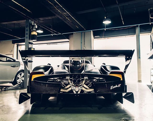 SSsupersports   Alexpenfold: Throwback To Finding This Zonda R In.