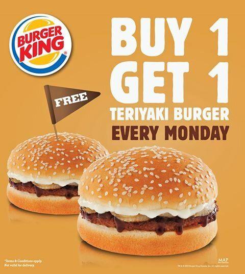 Burger King: Every Monday, Buy 1 Get 1 @BurgerKing_ID