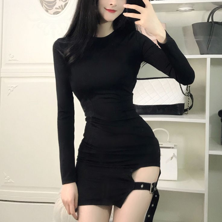 Korean Sexy Strap Skirt Night Dress KW1811720