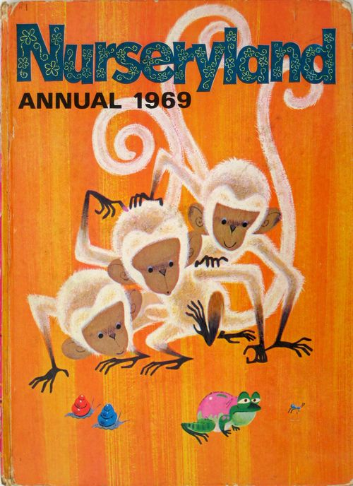 imageinaction:   Nurseryland Annual 1969 front cover via Cindy