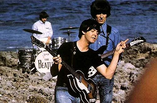 The Beatles in the Bahamas filming Help! 1965 - Another Girl