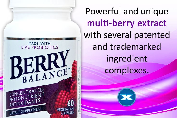Berry Balance is made with twelve key nutrient-rich fruit, berry, fruit skin and seed extracts and is rich in antioxidant polyphenols such as ellagic acid, anthocyanins and other flavonoids.