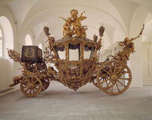 Prunkwagen Ludwig II - Marstallmuseum