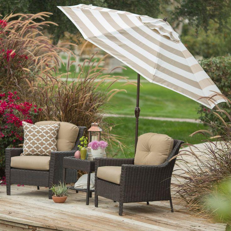 coral coast fashion patio umbrella with crank and tilt patio umbrellas at hayneedle