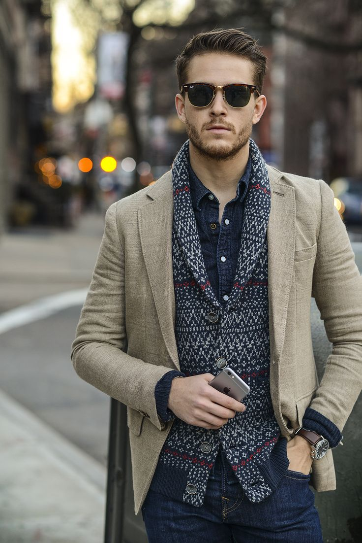 Men's Fashion & Style | Menswear | Men's Outfit Idea for the Holidays | Smart Casual | Moda Masculina | Shop at designerclothingfans.com