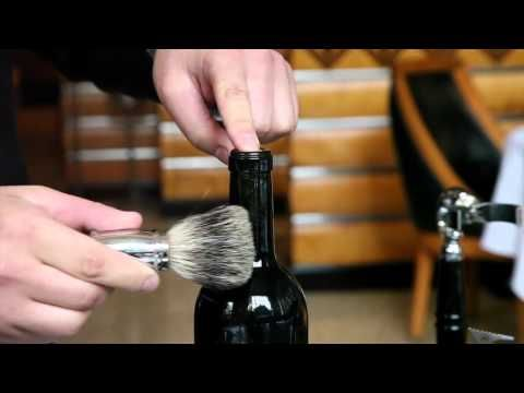The clever way to open a wine bottle without a corkscrew