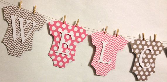 Welcome+Baby+Banner+New+Baby+Baby+by+FitchCraftCreations+on+Etsy