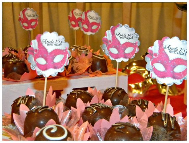 """Photo 1 of 10: Masquerade sweet 16 / Quinceañera """"Masquerade Sweet 16"""" 