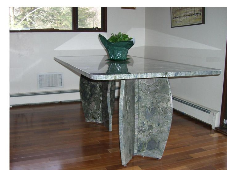 20 best images about different ideas for granite table top on pinterest elle decor oval - Custom kitchen table ...