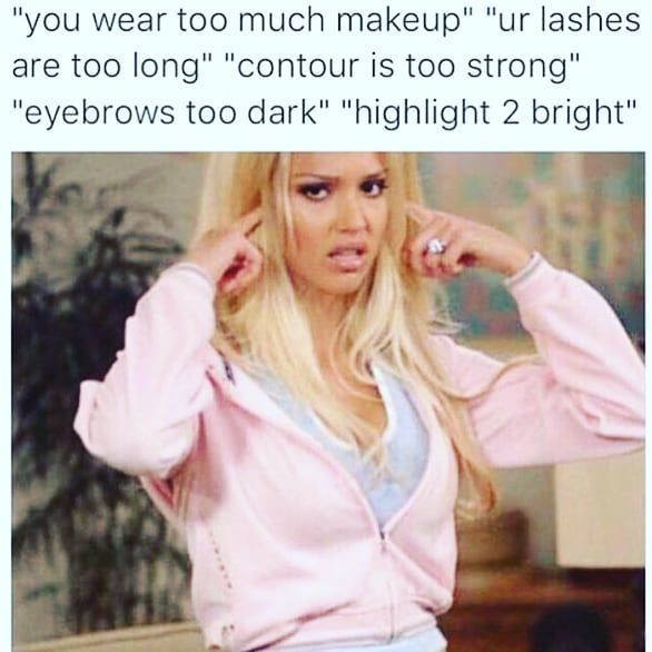 You wish you had the skills to look this good!  #snatched #deceased #girls #cosmetics #instabeauty #instagood #beauty #makeup #contour #highlight #shine #skill #youtuber #instagram #lipstick #mascara #concealer #cosmeticranger #fullcoverage #foundation #settingpowder #jeffreestarcosmetics #tarte #mac #eyeshadow #glam #glowup