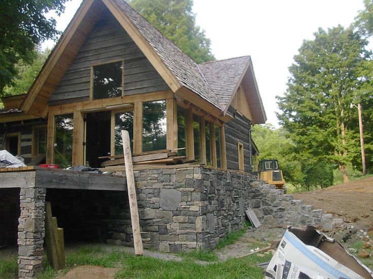 cabin designs | Free Small Home Plans, Cabin Plans, Cottage Designs and Do-It