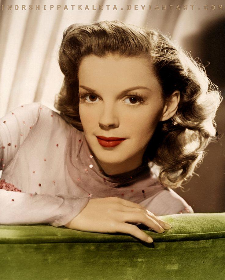 Judy Garland (born Frances Ethel Gumm; June 10, 1922 – June 22, 1969)