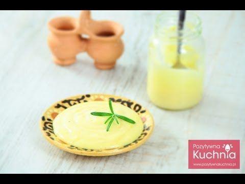 Majonez - przepis na majonez domowy | DOROTA.iN