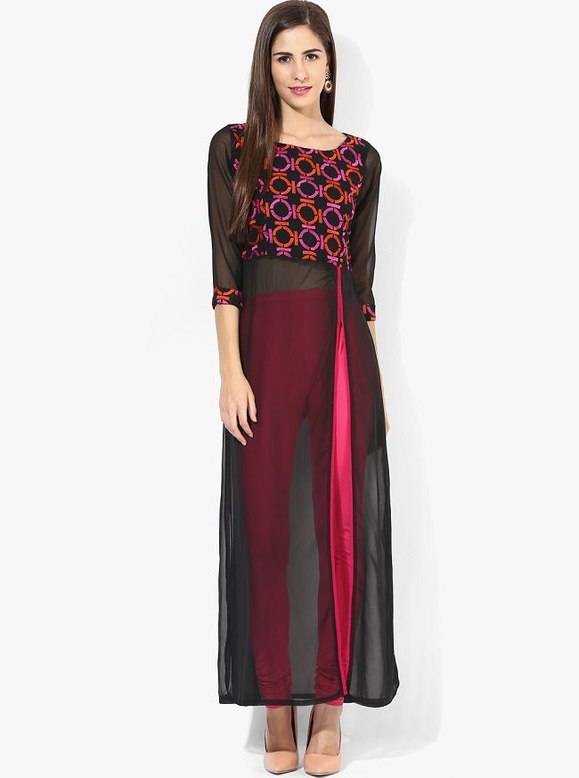 46872e406d54 Latest Designer Kurtis with Different Cut Types | Indo western gowns | Kurti,  Kurti with jeans, Indian designer wear