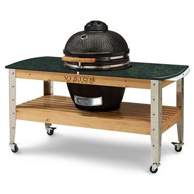 Vision Grills Kamado Grilling Station - Grilling, Smoking and Baking - $899