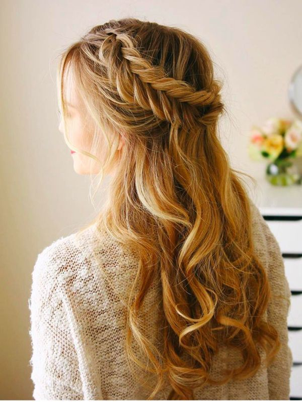 Plaited Bridal Hair Half Up Half Down Hair Styles Bridal Hair Half Up Bridal Hair Half Up Half Down