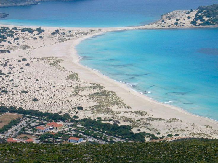 Παραλία Σίμος - Simos Camping Ελαφόνησος