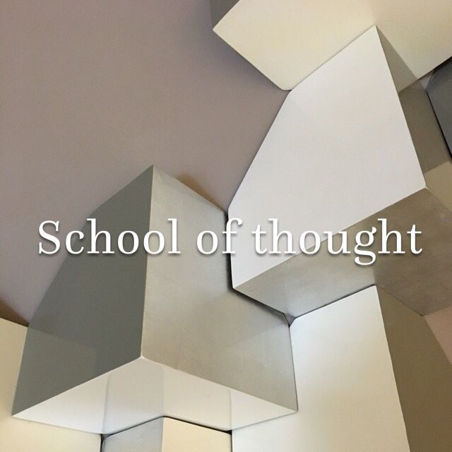 School of thought – Snapshot