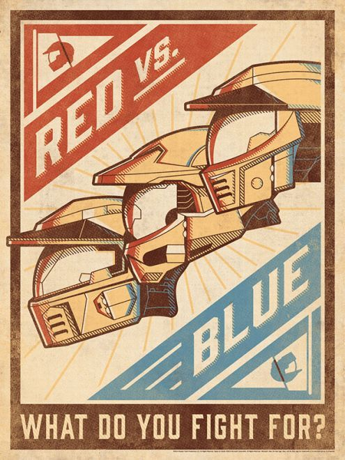 The limited edition RvB poster :3