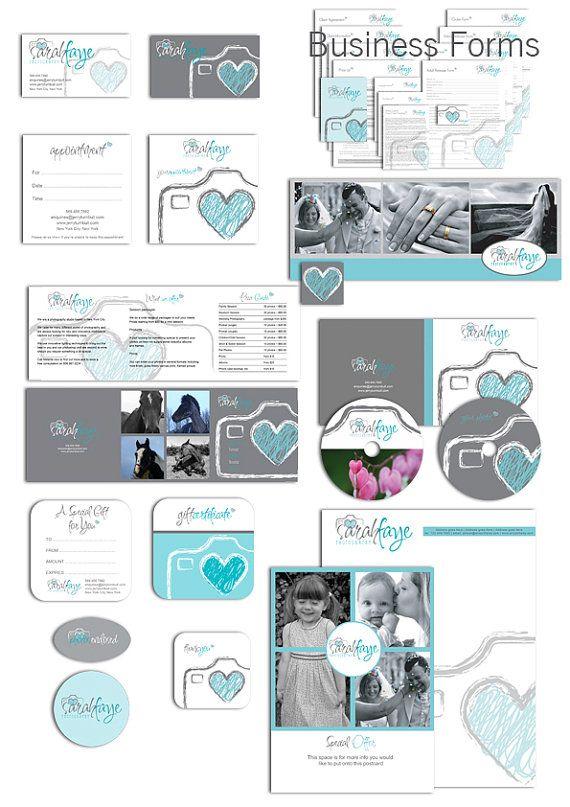 Photography Marketing set and photography by AquariusLogos on Etsy