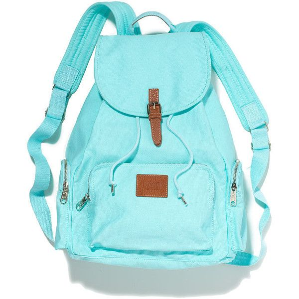 Victoria's Secret Backpack ($33) found on Polyvore
