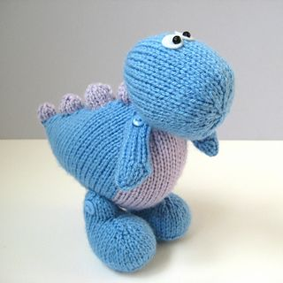 Knitting Pattern Dinosaur Toy : 17 Best images about Dinosaurs on Pinterest Toys, Patterns and The dinosaurs
