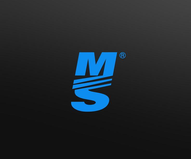 Logo Design by MIKE for Popular Sports / Athletic Brand #monogram #sport #logo #design #DesignCrowd #blue
