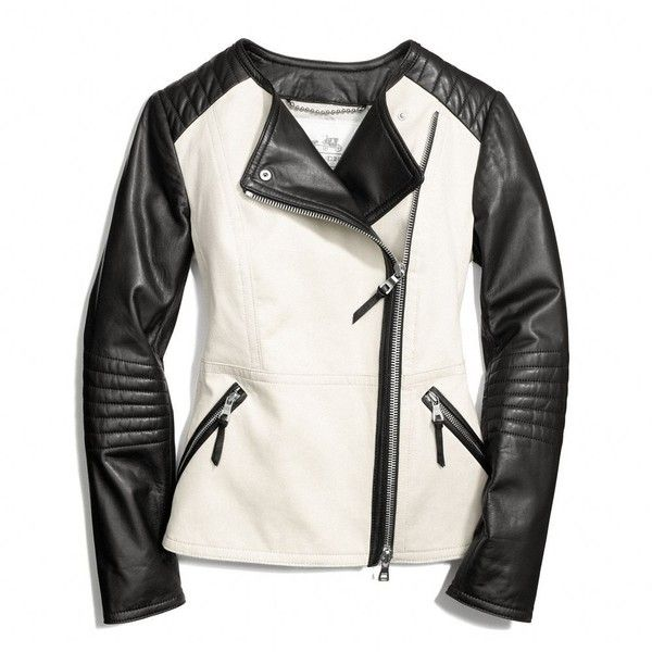 17 Best ideas about White Leather Jackets on Pinterest | White ...