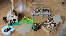 Schleich Bauernhof selber bauen