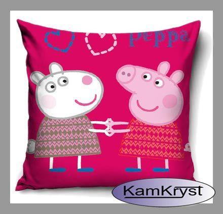 Poszewka Peppa i Suzy - kolejna nowość w naszym sklepie wśród poszewek na poduszki