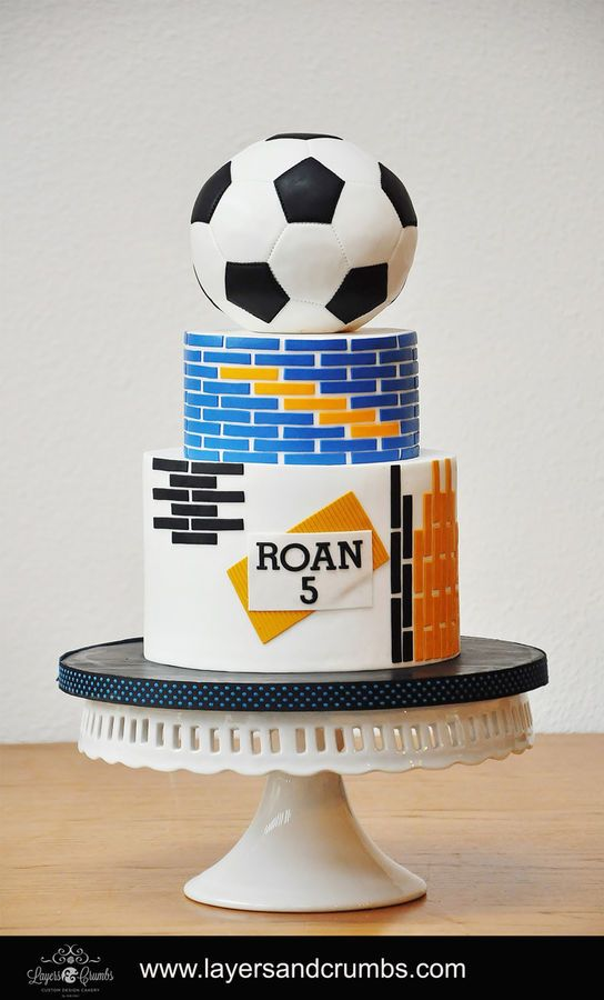 Cakes For Birthday Boy Soccer Toronto