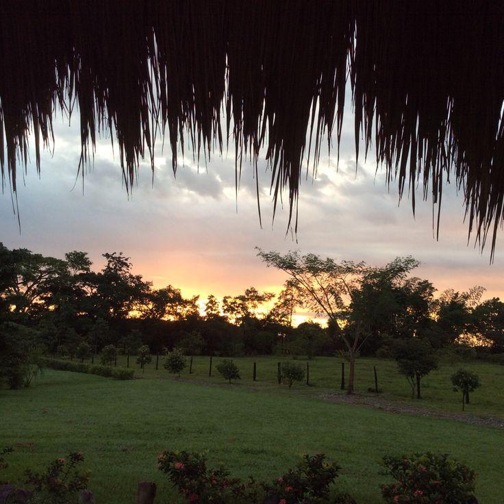 Villavicencio - amanecer en los Llanos Orientales de Colombia