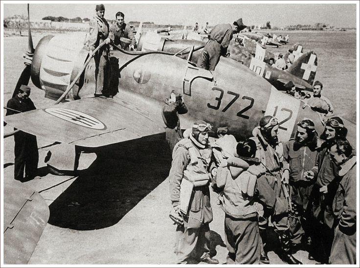 Macchi C.200 Saetta Gruppo Autonomo 372 Sa 372-2 Brindisi MM 5089 Nov 1940