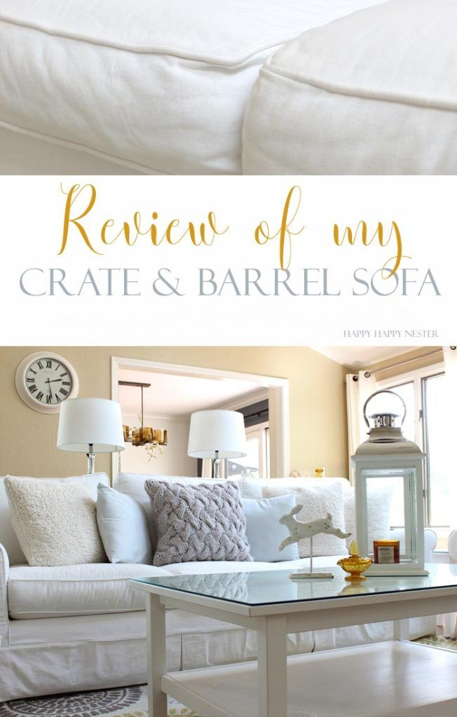 My Honest Review Of Crate Barrel Sofa The Harborside Is Best And Has Held Up For Three Years If You Are Thinking Ing A