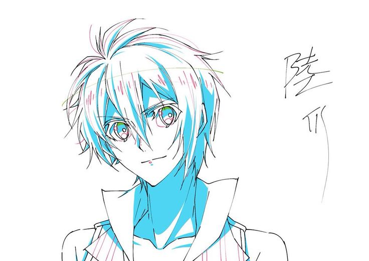 Idolish 7 animation sketching for shadows and lighting~ i think Arina is getting obsessed with this series XD