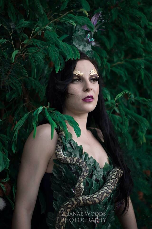 Rise of the Guardians of Mother Nature • Part Eight • Growth • Makeup by Ella Lloyd - Hair by Megan Beverly - Model : Lucy Luxe - Photo and outfit by Zhanae Woods Photography •