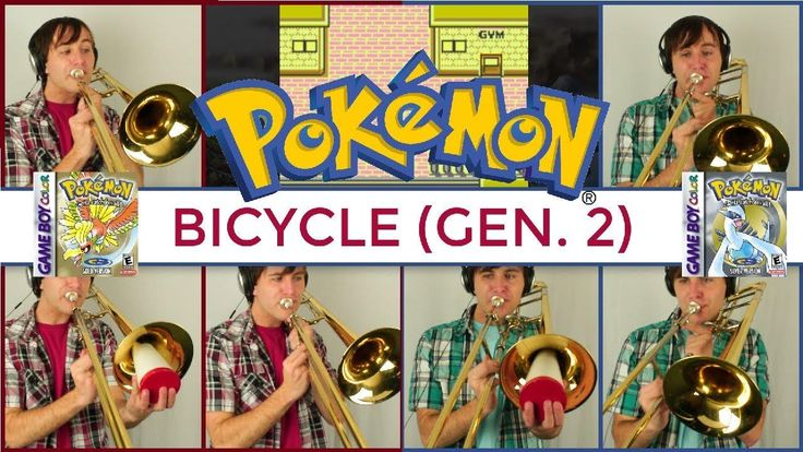 While we wait on Johto Legends to come out, I'd like to introduce all of you to our musicians 😄  Everyone, meet Danny Romberger! I first heard Danny's work on a previous Materia release, FALLEN: An Undertale Tribute, and got in touch with him to see if he could record trombone. I later found out he was a HUGE Pokémon fan, pun master, and an utter delight as we started recording for Johto ❤️  To give you a taste of his playing, here's Danny's very own arrangement of the Bicycle Theme from…