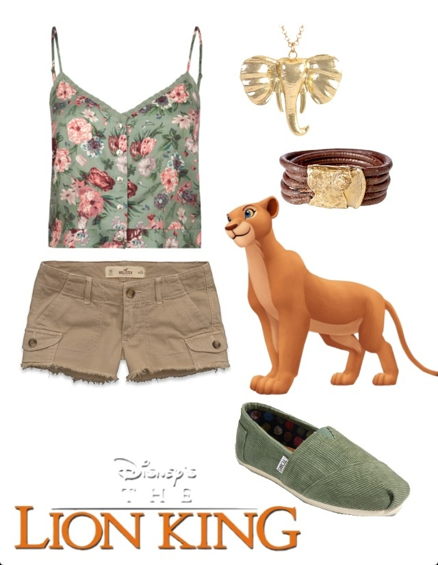 Nala Disney Inspired Outfit, this would be an outfit my style!