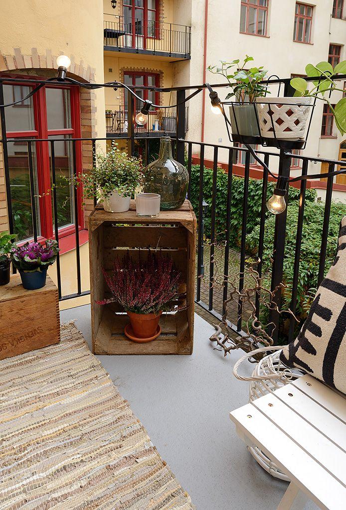25 beste idee n over balkon decoratie op pinterest balkon klein balkon decor en appartement - Decoratie klein appartement ...