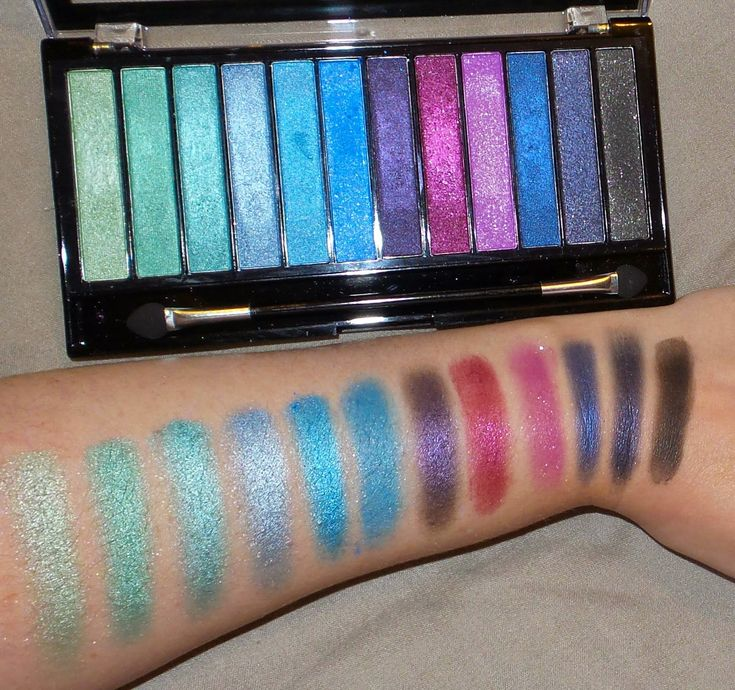 Beauty fashion and lifestyle : Makeup Revolution Mermaids vs Unicorns Palette