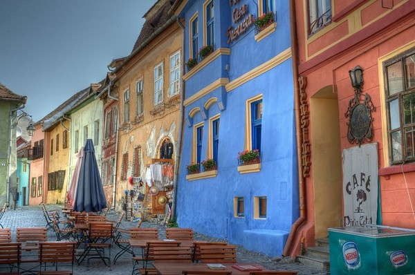 . #Romania: Favorite Places, Sighisoara, 1613 Ideas, Buildings, Places I D, Creative Travel, Romania Ridecolor, Colors Building, Weights Loss
