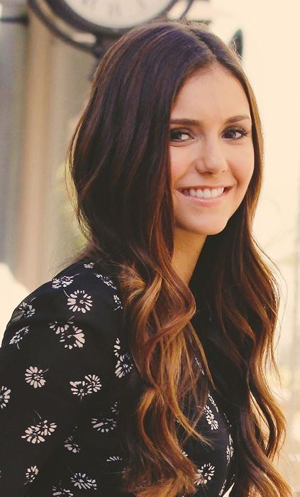 Nina Dobrev......she looks SO much like Emmanuelle Chriqui.