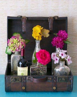 Bloemen gepakt....