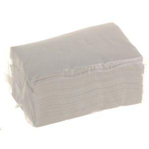 Recharge de 100 serviettes en papier pour distributeur - 10 x 7 cm - Blanc