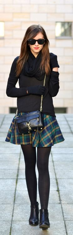 You can wear skirts in Spring, just layer up with a warm jumper and thick tights