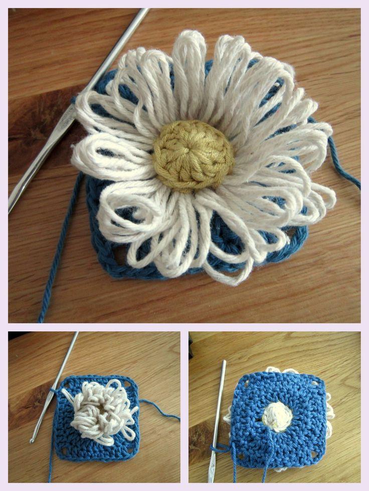 Who Loves Ya Daisy?  p.s. I crochet...