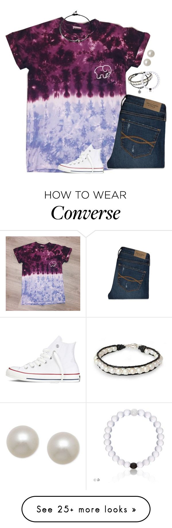 """that feeling you get when you know he actually cares."" by isabella813 on Polyvore featuring NOVICA, Alex and Ani, Abercrombie & Fitch, Honora and Converse"