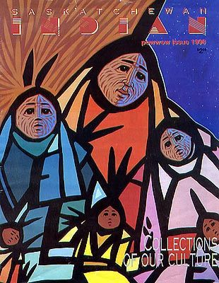 'Lets Dance' by Jerry Whitehead, on cover of Sask. Indian