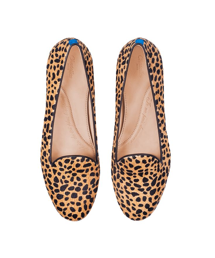 Chatelles - cheetah slippers