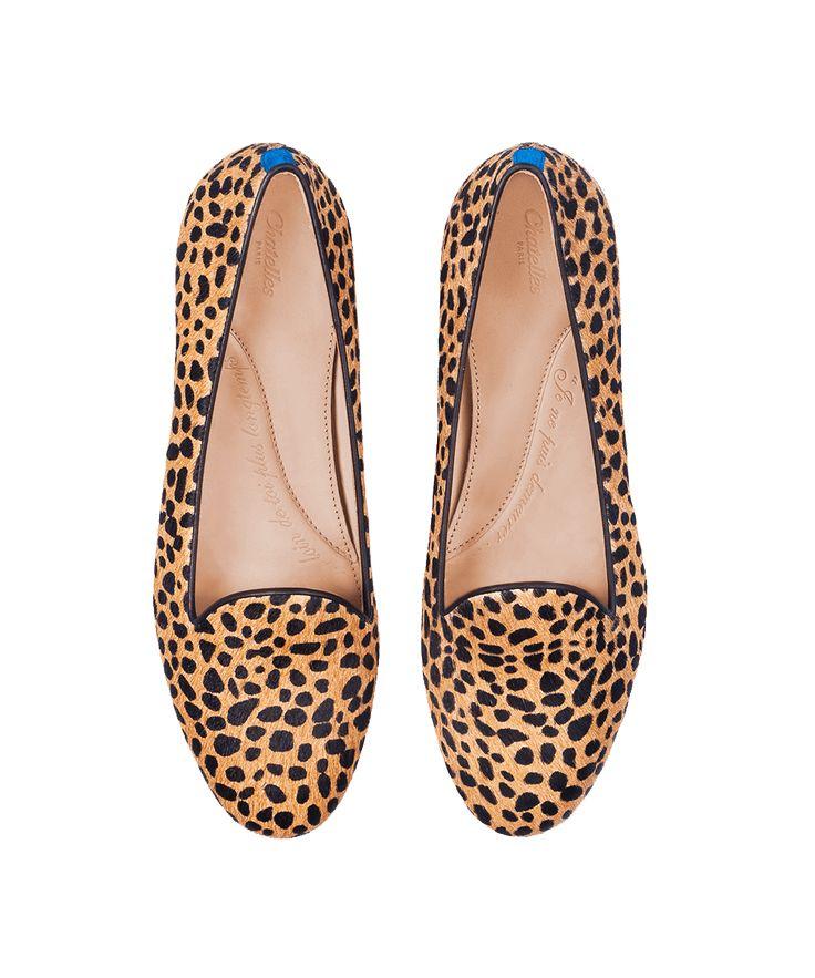 Chatelles - cheetah slippers